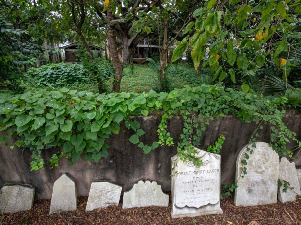 African American burial grounds in Cainhoy and at 88 Smith Street